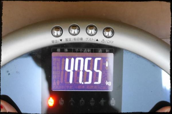生理後体重